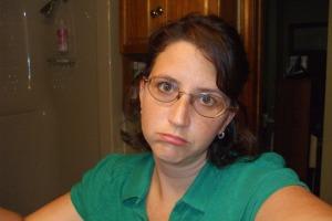 I'm sad - this is my sad face